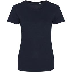Vêtements Femme T-shirts manches courtes Awdis Girlie Bleu marine