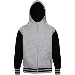 Vêtements Enfant Sweats Awdis Varsity Gris chiné/Noir