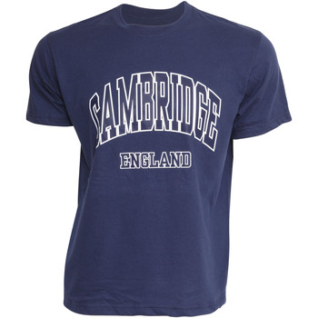 Vêtements Homme T-shirts & Polos Cambridge University Cambridge Bleu marine