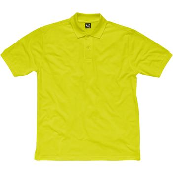 Vêtements Enfant Polos manches courtes Sg SG50K Vert citron