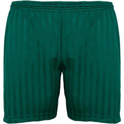 Vêtements Enfant Shorts / Bermudas Maddins Stripe Vert bouteille