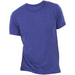 Vêtements Homme T-shirts manches courtes Bella + Canvas Triblend Bleu marine