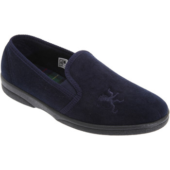 Chaussures Homme Chaussons Sleepers Gusset Bleu marine