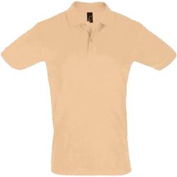Vêtements Homme Polos manches courtes Sols Pique Beige
