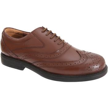 Chaussures Homme Richelieu Scimitar Oxford Marron