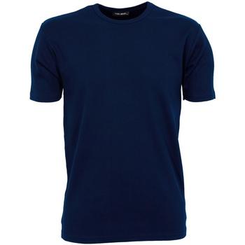 Vêtements Homme T-shirts manches courtes Tee Jays Interlock Bleu marine