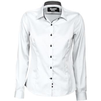Vêtements Femme Chemises / Chemisiers J Harvest & Frost JF006 Blanc/Noir