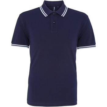 Vêtements Homme Polos manches courtes Toutes les chaussures femme Classics Bleu marine/blanc