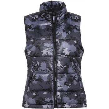 Vêtements Femme Doudounes 2786 Padded Camouflage gris