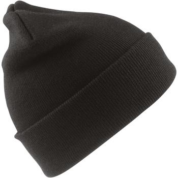 Accessoires textile Garçon Bonnets Result Ski Noir