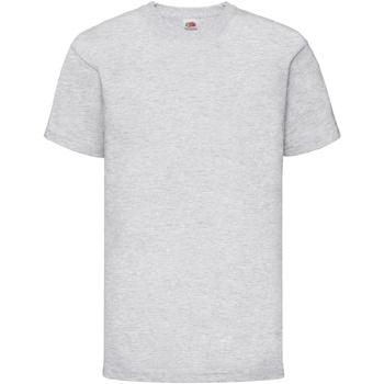 Vêtements Enfant T-shirts manches courtes Fruit Of The Loom 61033 Gris