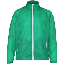 Vêtements Homme Coupes vent 2786 Contrast Vert/Blanc