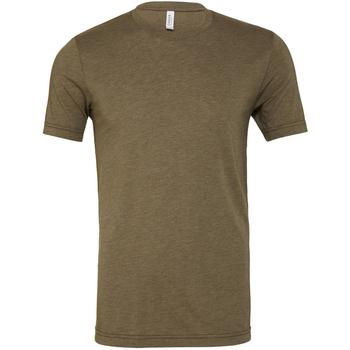 Vêtements Homme T-shirts manches courtes Bella + Canvas Triblend Olive