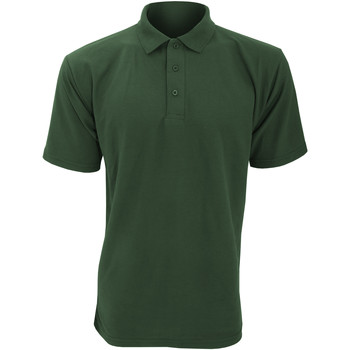 Vêtements Homme Polos manches courtes Ultimate Clothing Collection UCC003 Vert bouteille