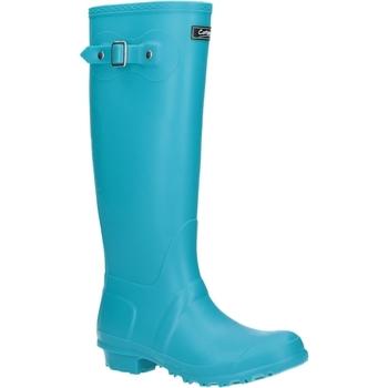 Chaussures Femme Bottes de pluie Cotswold Sandringham Turquoise