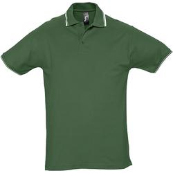 Vêtements Homme Polos manches courtes Sols 11365 Vert/Blanc
