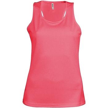 Vêtements Femme Débardeurs / T-shirts sans manche Kariban Proact Proact Rose fluo