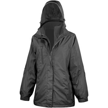 Vêtements Femme Coupes vent Result Softshell Noir/ Noir