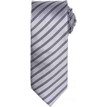 Vêtements Homme Cravates et accessoires Premier PR782 Argent/Gris foncé