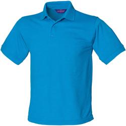 Vêtements Homme Polos manches courtes Henbury HB400 Bleu saphir