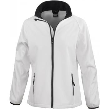 Vêtements Femme Coupes vent Result R231F Blanc/Noir