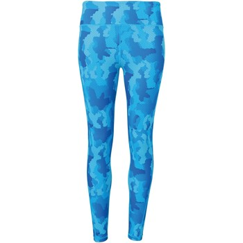 Vêtements Femme Leggings Tridri Hexoflage Camouflage bleu