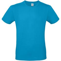 Vêtements Homme T-shirts manches courtes B And C TU01T Bleu vif