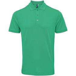 Vêtements Homme Polos manches courtes Premier PR630 Vert