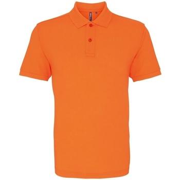 Vêtements Homme Polos manches courtes Asquith & Fox AQ010 Orange néon