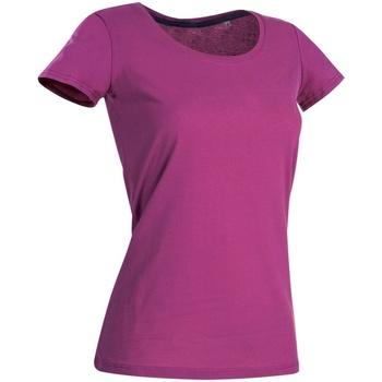Vêtements Femme T-shirts manches courtes Stedman Stars Claire Rose