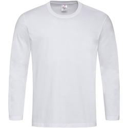 Vêtements Homme T-shirts manches longues Stedman Comfort Blanc