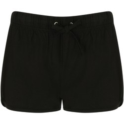 Vêtements Femme Shorts / Bermudas Skinni Fit Retro Noir/Noir