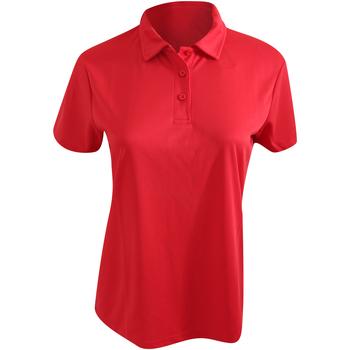 Vêtements Femme Polos manches courtes Awdis Girlie Rouge feu