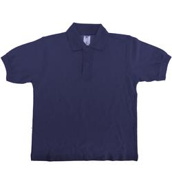 Vêtements Enfant Polos manches courtes B And C PK486 Bleu marine