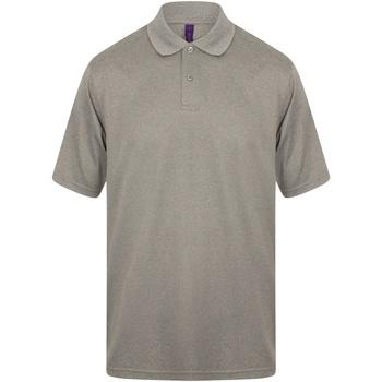 Vêtements Homme Polos manches courtes Henbury HB475 Gris