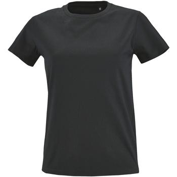 Vêtements Femme T-shirts manches courtes Sols Imperial Gris foncé