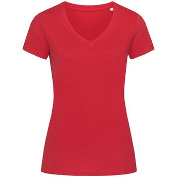 Vêtements Femme T-shirts manches courtes Stedman Stars Janet Rouge foncé
