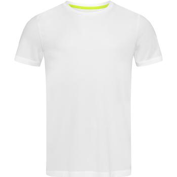 Vêtements Homme T-shirts manches courtes Stedman Active Mesh Blanc