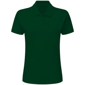 Vêtements Garçon Polos manches courtes Sg SG59K Vert bouteille