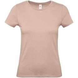 Vêtements Femme T-shirts manches courtes B And C E150 Rose pâle