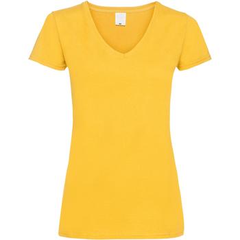 Vêtements Femme T-shirts manches courtes Universal Textiles Value Or