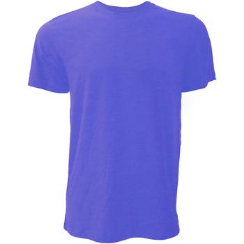 Vêtements Homme T-shirts manches courtes Bella + Canvas Jersey Bleu marine chiné