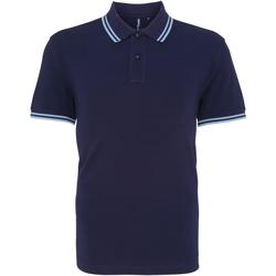 Vêtements Homme Polos manches courtes Toutes les chaussures femme Classics Bleu marine/bleu clair