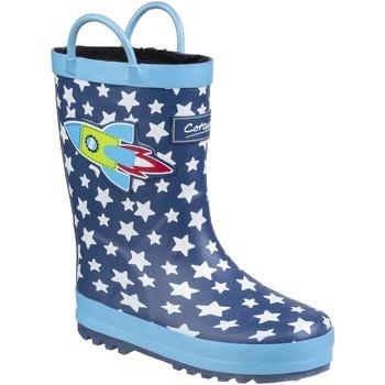Chaussures Enfant Bottes de pluie Cotswold Sprinkle Bleu