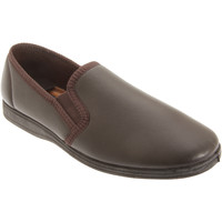 Chaussures Homme Chaussons Sleepers Gusset Marron foncé