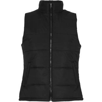 Vêtements Femme Gilets / Cardigans 2786 Padded Noir