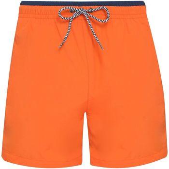 Vêtements Homme Shorts / Bermudas Asquith & Fox AQ053 Orange / bleu marine