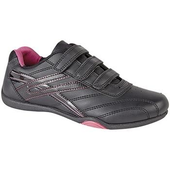 Chaussures Femme Baskets basses Dek Raven Noir/Fuchsia