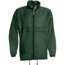 Vêtements Homme Coupes vent B And C Sirocco Vert bouteille
