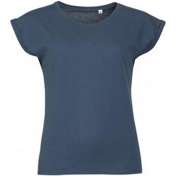 Vêtements Femme T-shirts manches courtes Sols Melba Bleu